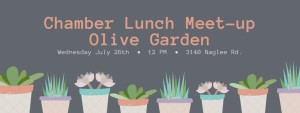 Chamber Lunch Meet-upOlive Garden